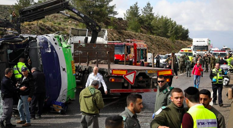 Two Killed, Dozens Injured in Bus Crash on Ancient Jewish